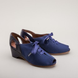 Daphne Wedge sandals - Blue